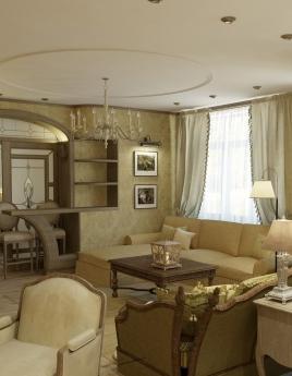 Гостиная в стиле прованс: дом мечты из старой сказки