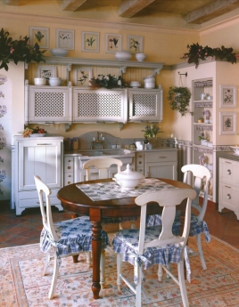 Кухня в стиле прованс: изящная простота или простое изящество