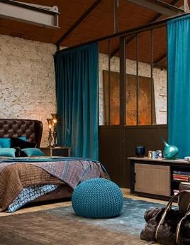 Спальня в стиле лофт: комфорт в динамике