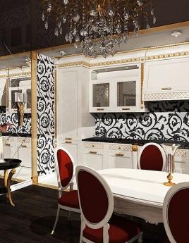 Кухня в стиле арт-деко: гармоничная и роскошная эклектика