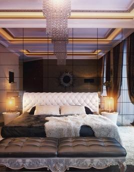 Спальня в стиле арт-деко: роскошь и причудливость геометрии